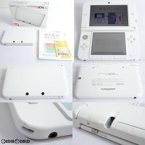 『中古即納』{訳あり}{本体}{3DS}ニンテンドー3DS LL ホワイト(SPR-S-WAAA)(20120728)|media-world