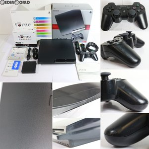 『中古即納』{訳あり}{本体}{PS3}プレイステーション3 PlayStation3 HDD250GB チャコール・ブラック 地デジレコーダーパック(CEJH-10010)(20100318)|media-world