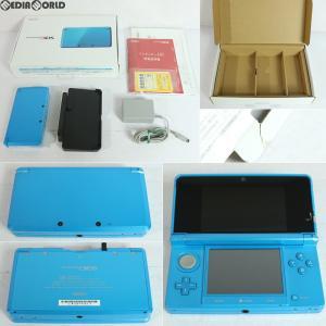 『中古即納』{訳あり}{本体}{3DS}ニンテンドー3DS ライトブルー(CTR-S-BDBA)(20130320)|media-world