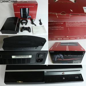 『中古即納』{訳あり}{本体}{PS3}PLAYSTATION 3 プレイステーション3 HDD40GB クリアブラック(CECH-H00)(20071111)|media-world