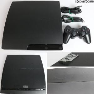 『中古即納』{訳あり}{本体}{PS3}プレイステーション3 PlayStation3 HDD160GB チャコール・ブラック(CECH-3000A)(20110709)|media-world