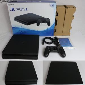 『中古即納』{訳あり}{本体}{PS4}プレイステーション4 PlayStation4 500GB ジェット・ブラック (CUH-2000AB01)(20160915)|media-world