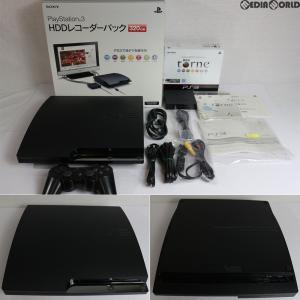 『中古即納』{訳あり}{本体}{PS3}PlayStation3 HDDレコーダーパック 320GB チャコール・ブラック(CEJH-10013)(20101118)|media-world