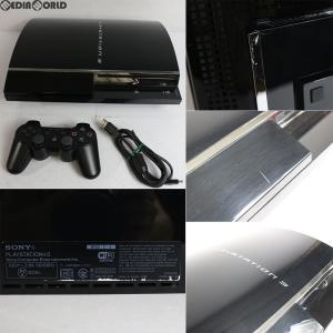 『中古即納』{訳あり}{本体}{PS3}プレイステーション3 PLAYSTATION 3 HDD60GB(CECH-A00)(20061111)|media-world