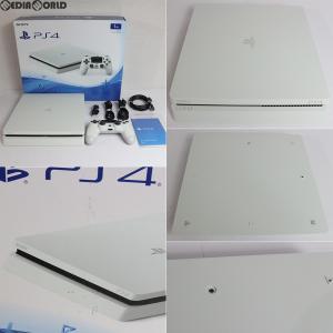 『中古即納』{訳あり}{本体}{PS4}プレイステーション4 PlayStation4 1TB グレイシャー・ホワイト(CUH-2000BB02)(20170223)|media-world