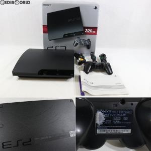 『中古即納』{訳あり}{本体}{PS3}プレイステーション3 PlayStation3 HDD320GB チャコール・ブラック(CECH-3000B)(20110625)|media-world
