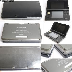 『中古即納』{訳あり}{本体}{3DS}ニンテンドー3DS コスモブラック(CTR-S-KAAA)(20110226)|media-world