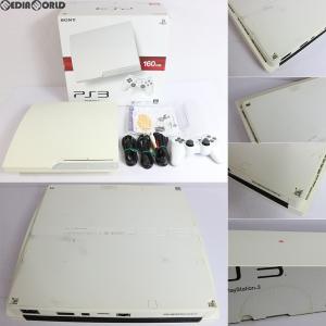 『中古即納』{訳あり}{本体}{PS3}プレイステーション3 PlayStation3 HDD160GB クラシック・ホワイト(CECH-3000ALW)(20110908)|media-world