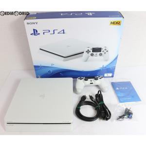 『中古即納』{訳あり}{本体}{PS4}プレイステーション4 PlayStation4 グレイシャー・ホワイト 1TB(CUH-2100BB02)(20170729)|media-world