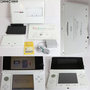 『中古即納』{訳あり}{本体}{3DS}ニンテンドー3DS ピュアホワイト(CTR-S-WEBA)(20131010)|media-world