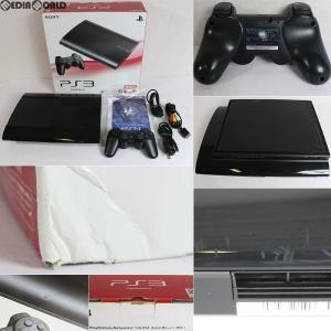 『中古即納』{訳あり}{本体}{PS3}プレイステーション3 PlayStation3 HDD250GB チャコール・ブラック(CECH-4200B)(20130907)|media-world