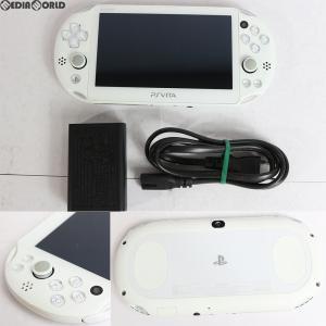『中古即納』{訳あり}{本体}{PSVita}PlayStationVita Wi-Fiモデル ホワイト(PCH-2000ZA12)(20131010)|media-world