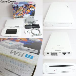 『中古即納』{訳あり}{本体}{WiiU}Wii U スプラトゥーン セット(WUP-S-WAGY)(20151112)|media-world