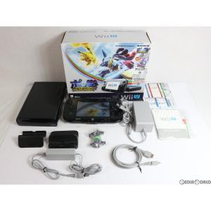 『中古即納』{訳あり}{本体}{WiiU}Wii U ポッ拳 POKKÉN TOURNAMENT セット(Wii Uプレミアムセット kuro/クロ/黒)(WUP-S-KAHR)(20160318)|media-world
