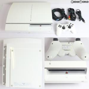 『中古即納』{訳あり}{本体}{PS3}PLAYSTATION 3 プレイステーション3 80GB セラミック・ホワイト(CECH-L00CW)(20081130)|media-world