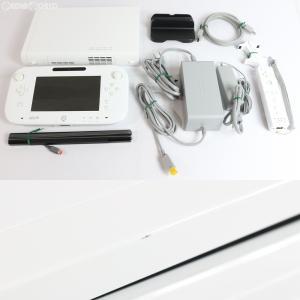 『中古即納』{訳あり}{本体}{WiiU}Wii U すぐに遊べるファミリープレミアムセット(シロ/白/Shiro)(WUP-S-WAFS)(20131031)|media-world