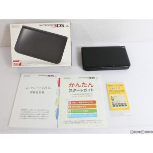 『中古即納』{訳あり}{本体}{3DS}ニンテンドー3DS LL ブラック(SPR-S-KKAA)(20121101)|media-world