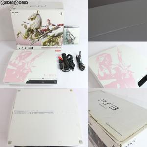 『中古即納』{訳あり}{本体}{PS3}プレイステーション3 PlayStation 3 250GB FINAL FANTASY XIII(FF13) LIGHTNING EDITION(CEJH-10008)(20091217)|media-world