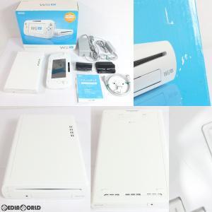 『中古即納』{訳あり}{本体}{WiiU}Wii U プレミアムセット PREMIUM SET shiro/シロ/白(本体メモリー32GB)(WUP-S-WAFC)(20130713)|media-world