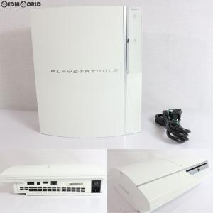 『中古即納』{訳あり}{本体}{PS3}プレイステーション3 PlayStation3 HDD40GB セラミック・ホワイト(CECH-H00CW)(20071111) media-world