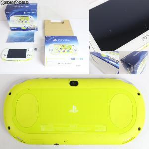 『中古即納』{訳あり}{本体}{PSVita}PlayStation Vita Value Pack Wi-Fiモデル ライムグリーン/ホワイト(PCHJ-10014)(20131205)|media-world