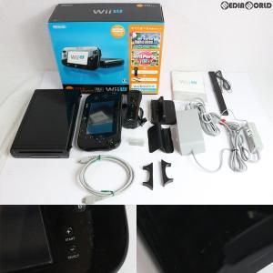 『中古即納』{訳あり}{本体}{WiiU}Wii U すぐに遊べるファミリープレミアムセット(kuro/クロ/黒)(WUP-S-KAFS)(20131031)|media-world