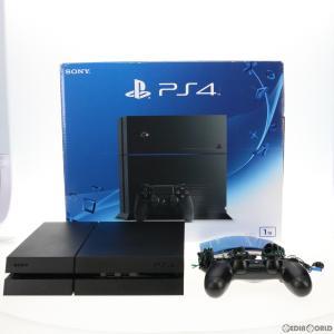 『中古即納』{訳あり}{本体}{PS4}プレイステーション4 PlayStation4 ジェット・ブラック 1TB(CUH-1200BB01)(20151203)|media-world