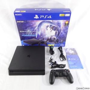 『中古即納』{訳あり}{本体}{PS4}プレイステーション4 PlayStation4 モンスターハンターワールド:アイスボーン マスターエディション Starter Pack Black 500GB|media-world