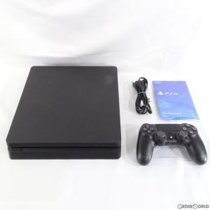 『中古即納』{訳あり}{本体}{PS4}プレイステーション4 PlayStation4 ジェット・ブラック 500GB(CUH-2200AB01)(20180712)|media-world