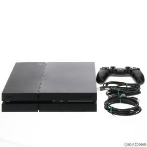 『中古即納』{訳あり}{本体}{PS4}プレイステーション4 PlayStation4 HDD500GB ジェット・ブラック(CUH-1200AB01)(20150627)|media-world