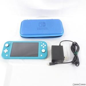 『中古即納』{訳あり}{本体}{Switch}Nintendo Switch Lite(ニンテンドースイッチライト) ターコイズ(HDH-S-BAZAA)(20190920)|media-world