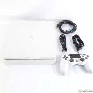 『中古即納』{訳あり}{本体}{PS4}プレイステーション4 PlayStation4 グレイシャー・ホワイト 500GB(CUH-2100AB02)(20170729)|media-world