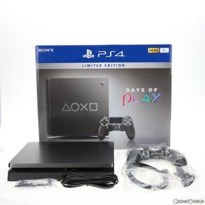 『中古即納』{訳あり}{本体}{PS4}プレイステーション4 PlayStation4 Days of Play(デイズ オブ プレイ) Limited Edition 1TB(CUH-2200BBZR)(20190607)|media-world