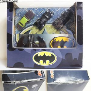『中古即納』{訳あり}{FIG}キャラウィール 4台セット BATMAN(バットマン) 完成品 ミニカー(0122913) バンダイ(20041127)|media-world
