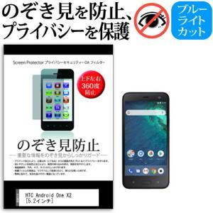 HTC Android One X2 のぞき見防止 上下左右4方向 プライバシー 保護フィルム 反射防止 覗き見防止 mediacover