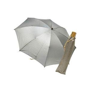 [ヌーヴェル・ジャポネ] Nouvel Japonais 日傘 スパッタリング素材 折りたたみ傘 日本製 遮熱 UV紫外線対策|mediaearth