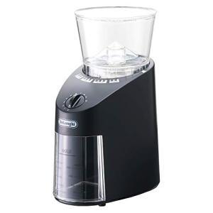 デロンギ コーヒーグラインダー コーン式 中挽き~極細挽き ブラック KG364J|mediaearth