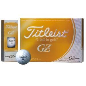 TITLEIST(タイトリスト) ゴルフボール GRANZ 1ZGPJ 1ダース(12個入り) プレミアムゴールドパール mediaearth