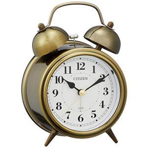 CITIZEN シチズン 目覚まし時計 連続秒針 ツインベルRA06 8RAA06-063|mediaearth
