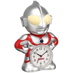 セイコー クロック 目覚まし時計 ウルトラマン キャラクター型 おしゃべり アラーム アナログ JF336A SEIKO|mediaearth