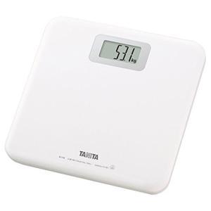 タニタ 体重計 デジタル ホワイト HD-661 WH 乗るだけで電源オン|mediaearth