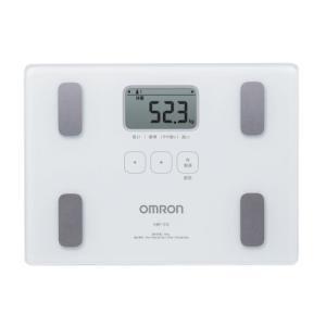 オムロン 体重・体組成計 カラダスキャン ホワイト HBF-212|mediaearth