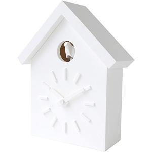 Magis 掛け時計 ホワイト 23x28.5x9cm CU-CLOCK 鳩時計 深澤直人 AC500|mediaearth