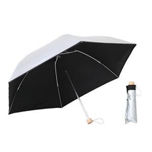 傘と日傘専門店リーベン 日傘 ブラック 60cm×6本骨 大きいミニ傘 60cm (晴雨兼用) LIEBEN-0587|mediaearth