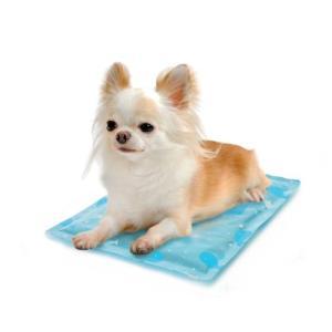 ペッツルート (Petz Route) ひえひえジェルマット 抗菌 ブルー SS 犬・猫用|mediaearth