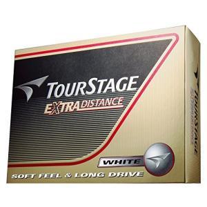 BRIDGESTONE(ブリヂストン) ゴルフボール TOURSTAGE エクストラディスタンス 1ダース( 12個入り) ホワイト TEWX mediaearth