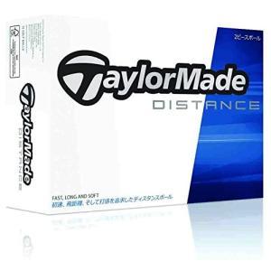 TAYLOR MADE(テーラーメイド) ゴルフボール TM14 DISTANCE 1ダース(12個入り) ホワイト A3409401 mediaearth