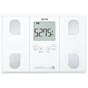 タニタ 体重 体組成計 50g ホワイト BC-314 WH 自動認識機能付き/立掛け収納OK|mediaearth