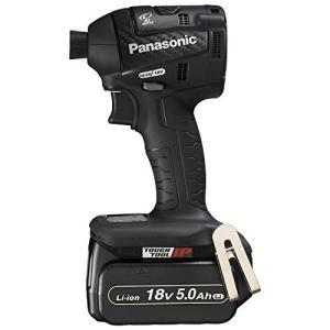 パナソニック(Panasonic) 充電インパクトドライバー 18V 5.0Ah 黒 EZ75A7LJ2G-B mediaearth