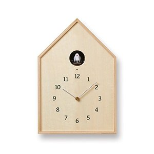 Birdhouse Clock NY16-12 NT|mediaearth